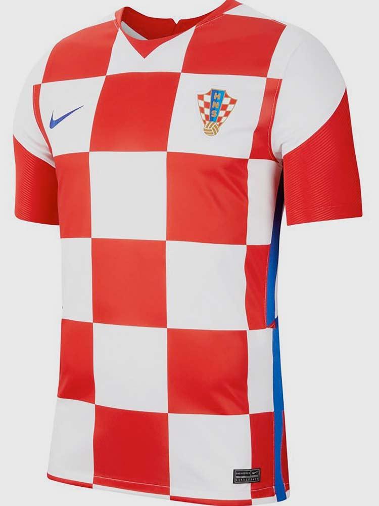 Kroatie EK voetbalshirt